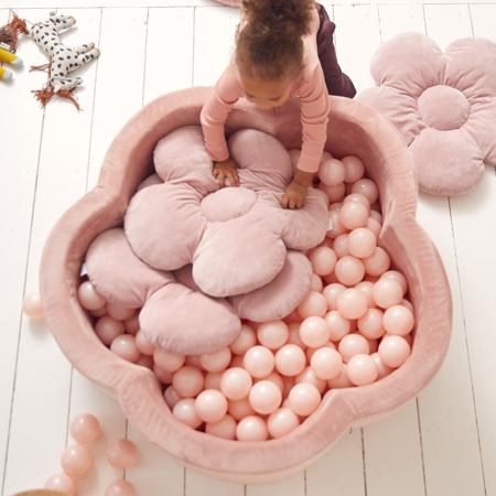 Kidkii® Set 3 jastučića Flower Velvet Pink