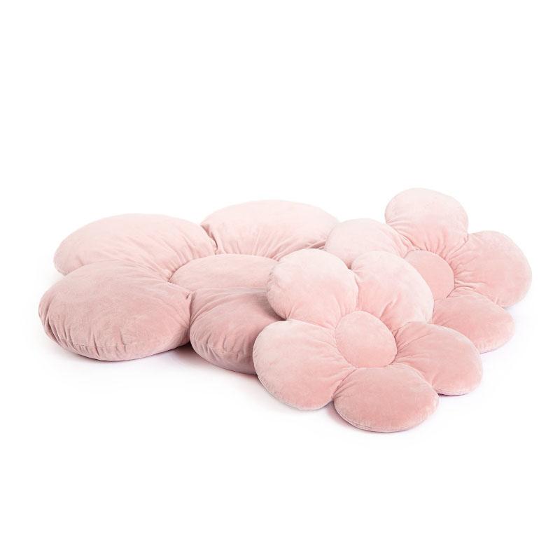 Slika za  Kidkii® Set 3 jastučića Flower Velvet Pink