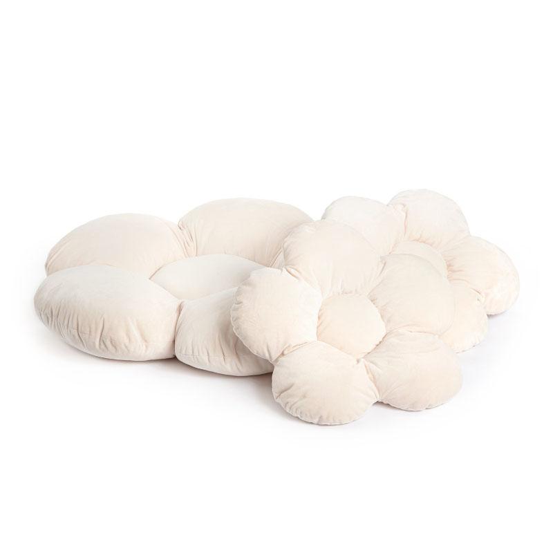 Slika za Kidkii® Set 3 jastučića Flower Velvet Beige