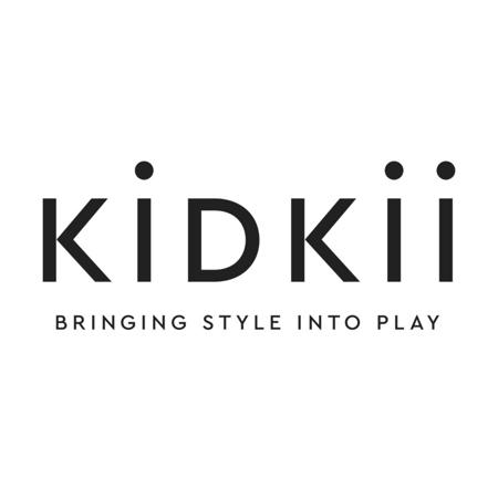 Slika za  Kidkii® Okrugli Grey Bazen s lopticama Blue 90x40