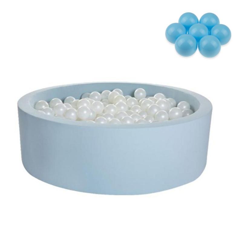 Slika za  Kidkii® Okrugli Blue Bazen s lopticama Blue 90x30