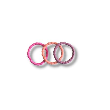 Slika za Elastike za kosu Pink Mix Ø1.5cm 100 kom