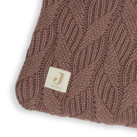 Slika za Jollein® Podloga za igru Spring Knit 100x80 Chestnut