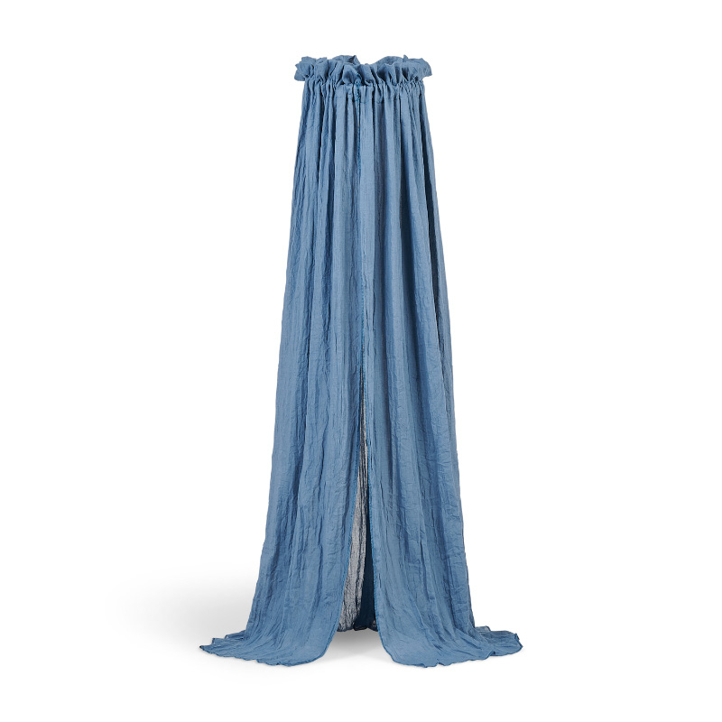 Slika za Jollein® Posteljni baldahin Vintage Jeans Blue