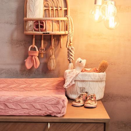 Slika za Jollein® Košara za pohranjivanje stvarčica Spring Knit Ivory