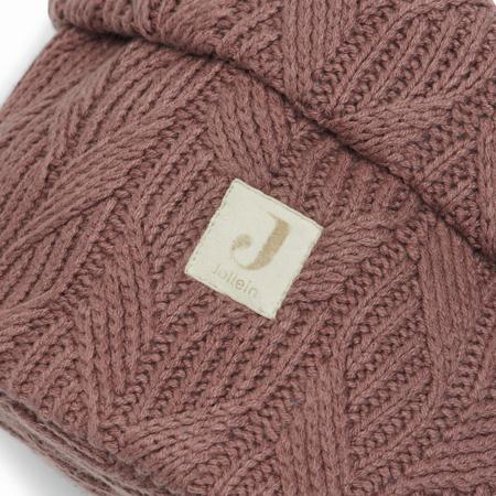 Jollein® Košara za pohranjivanje stvarčica Spring Knit Chestnut