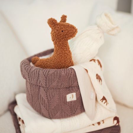 Slika za Jollein® Košara za pohranjivanje stvarčica Spring Knit Chestnut