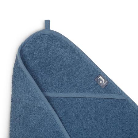 Jollein® Ručnik s kapuljačom Jeans Blue 75x75
