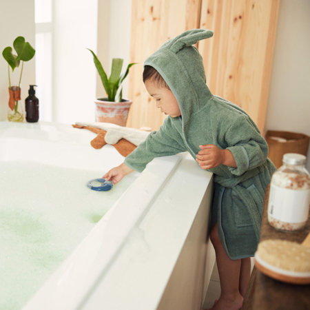 Slika za Jollein® Ogrtač za kupanje Ash Green (1-2G)