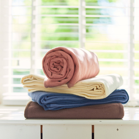 Slika za Jollein® Pamučna dekica 150x100 Jeans Blue