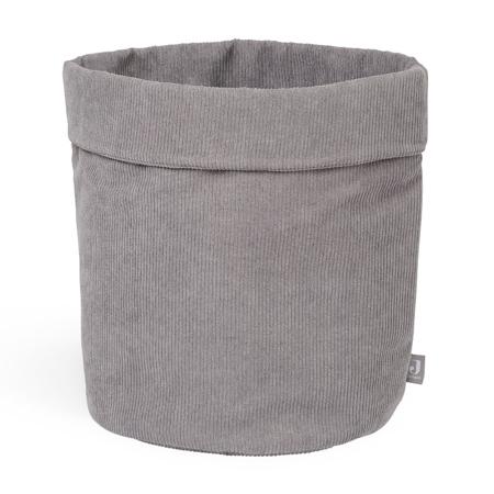 Slika za Jollein® Košara za pohranjivanje Corduroy Storm Grey