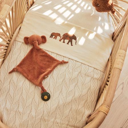 Slika za Jollein® Pletena dekica Spring Knit Ivory 100x75
