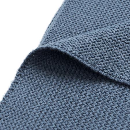 Slika za Jollein® Pletena dekica Jeans Blue 150x100