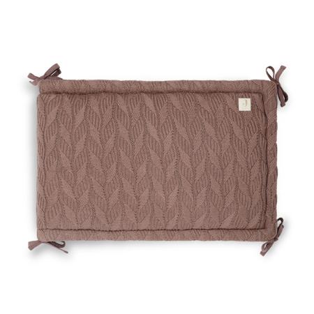 Jollein® Porub za krevetić Spring Knit 180x35 Chestnut