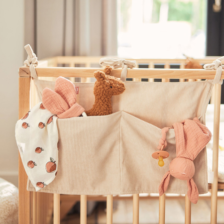 Slika za Jollein® Organizator za krevetić Corduroy Nougat