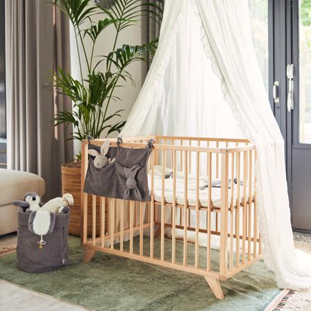 Slika za Jollein® Organizator za krevetić Corduroy Storm Grey