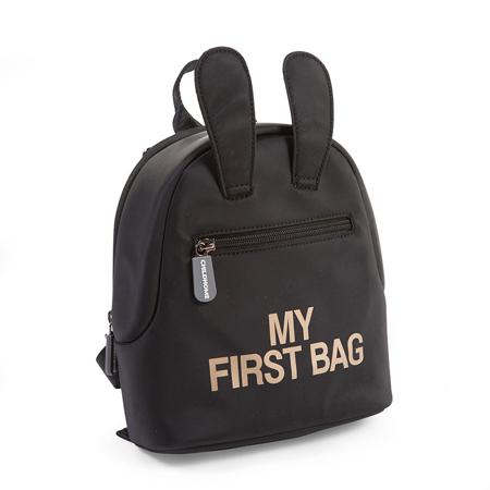 Childhome® Dječji ruksak My First Bag Black