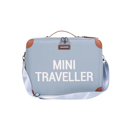 Childhome® Putni kofer MINI Traveller Grey Off White