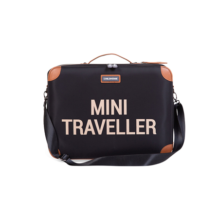 Slika za Childhome® Putni kofer MINI Traveller Black and Gold