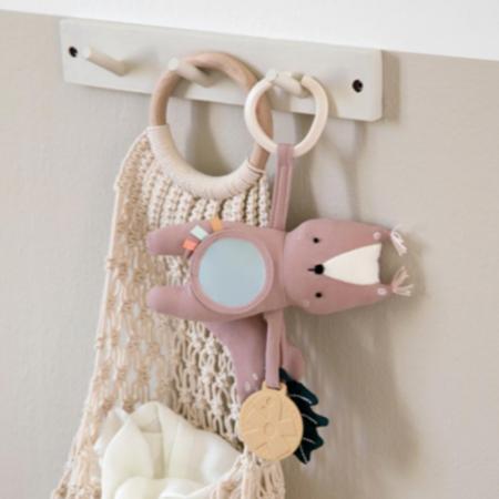Slika za Sebra® Didaktička igračka Zappy Vjeverica Misty Rose