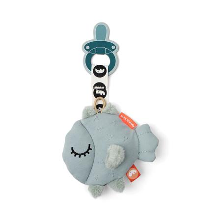 Slika za  Done by Deer® Mazilica s držalom za dudu Puffee Blue