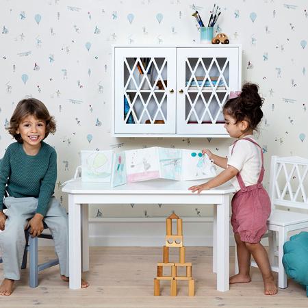 Slika za CamCam® Dječji stol Harlequin Dusty Rose