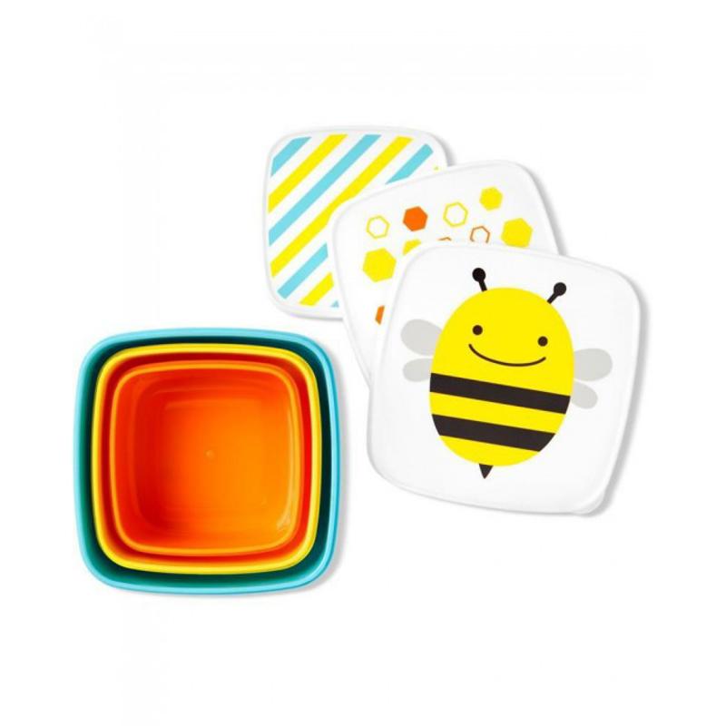 Slika za  Skip Hop® Set kutijica za grickalice Pčelica