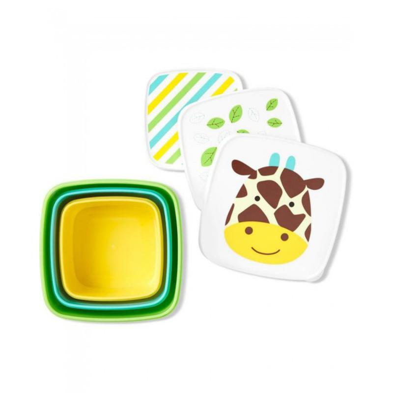 Slika za  Skip Hop® Set kutijica za grickalice Žirafa