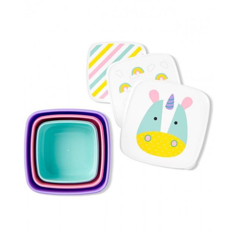 Slika za  Skip Hop® Set kutijica za grickalice Jednorog