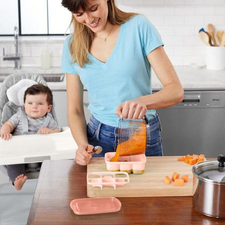 Slika za Skip Hop® Posuda za smrzivanje dječje hrane Grey / Coral