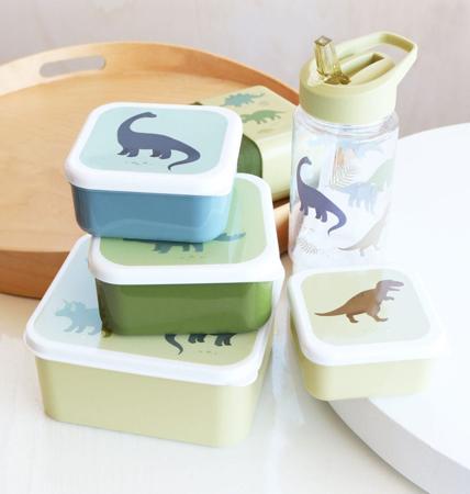 A Little Lovely Company® Kutijice za užinu i grickalice Dinosaurus