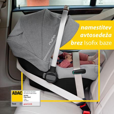 Slika za  Nuna® Dječja autosjedalica Pipa™ Next i-Size 0+ (0-13 kg) Frost