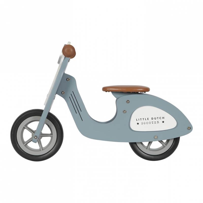 Slika za Little Dutch® Dječja guralica Scooter Dark Blue