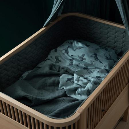 Slika za Sebra® Porub za krevetić  Midnight Green
