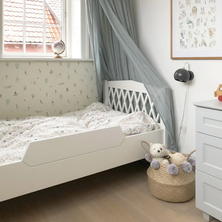 Slika za CamCam® Ogradica za krevetić  Harlequin Junior Light Sand