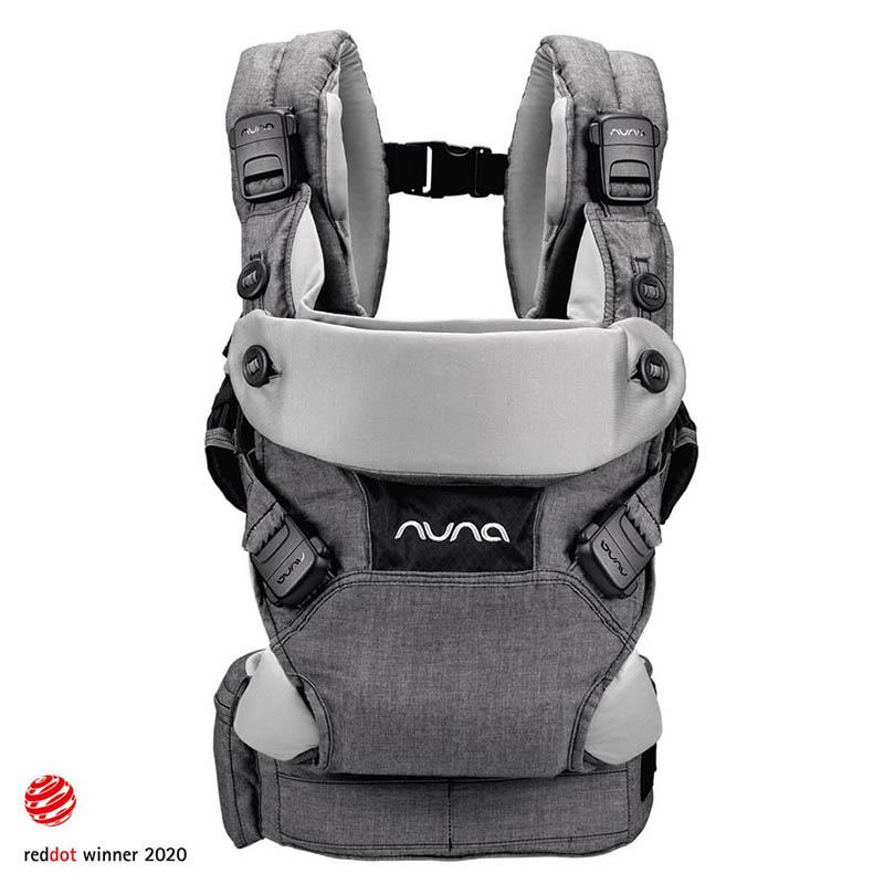 Slika za Nuna® Ergonomska nosiljka Cudl™ Softened Front and Back Shadow