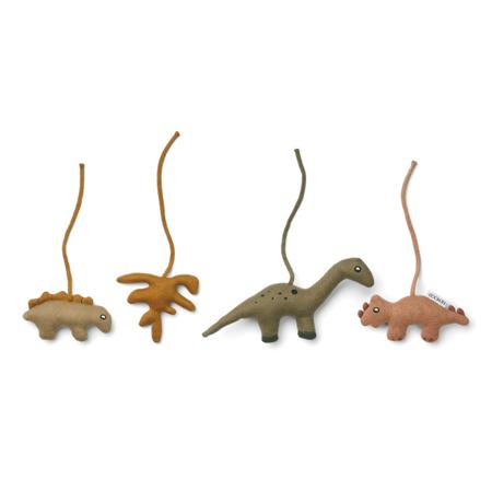 Slika za  Liewood® Didaktičke igračke Gio Dino Golden Caramel/Multi Mix