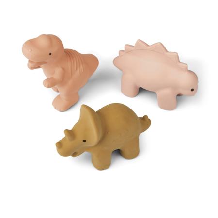 Slika za Liewood® Set 3 igračke za kupanje David Dino Rose Multi Mix