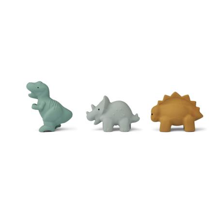 Liewood® Set 3 igračke za kupanje David Dino Blue multi Mix