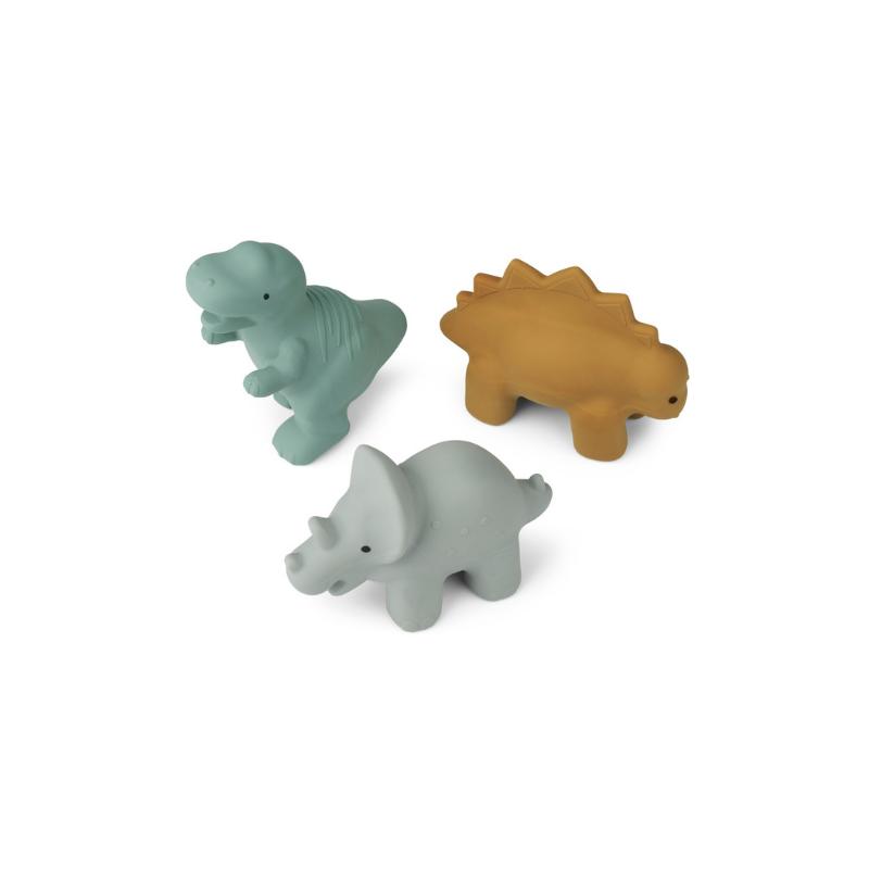Slika za Liewood® Set 3 igračke za kupanje David Dino Blue multi Mix