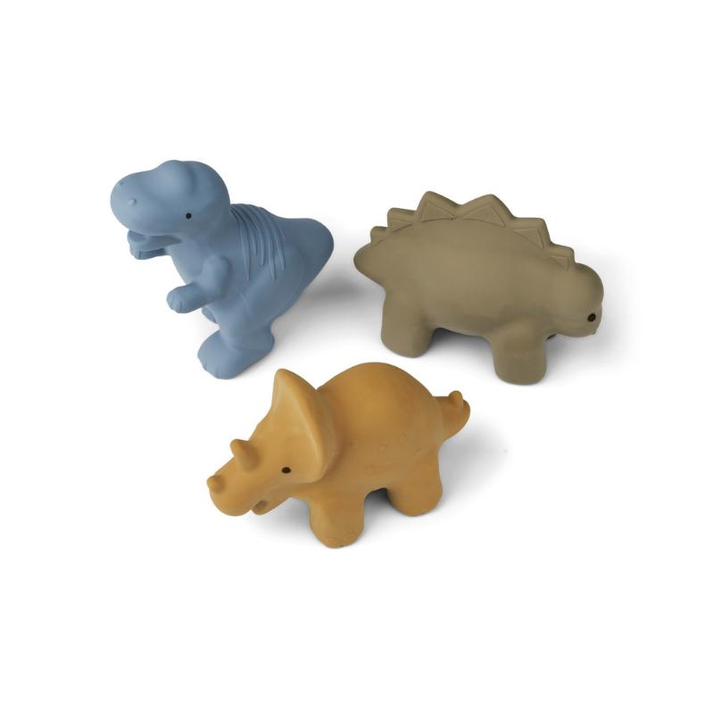 Slika za Liewood® Set 3 igračke za kupanje David David Dino Multi mix