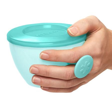 Slika za Skip Hop® Set kutijica za hranu  Grey/Soft Teal