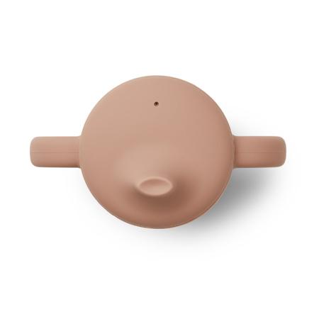 Slika za Liewood® Čašica za učenje pijenja od silikona Neil Dark Rose/Mustard Mix 2 kos