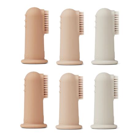 Slika za Liewood® Zubne četkice za prst 6 komada Rose Multi Mix