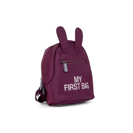 Childhome® Dječji ruksak My First Bag Aubergine