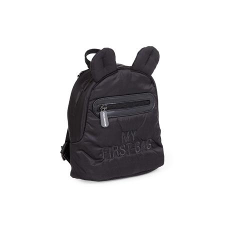 Childhome® Dječji ruksak My First Bag  Zwart