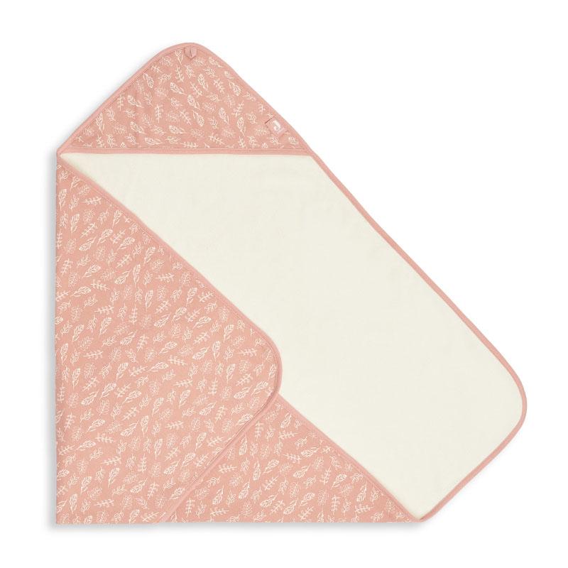 Slika za Jollein® Ručnik s kapuljačom Meadow Rosewood 75x75