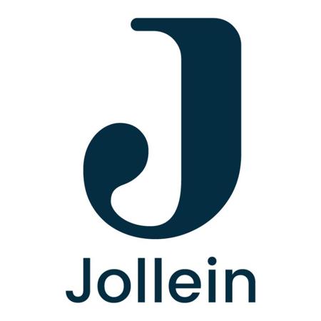 Slika za Jollein® Pamućni podbradnjak Chestnut 2 kosa