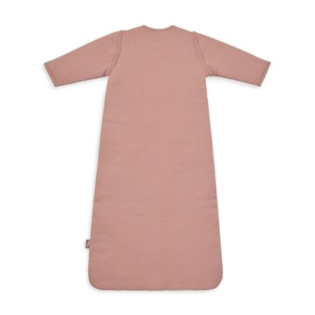 Slika za Jollein® Dječja vreća za spavanje s uklonljivim rukavima 90cm Stripe Rosewood TOG 3.5