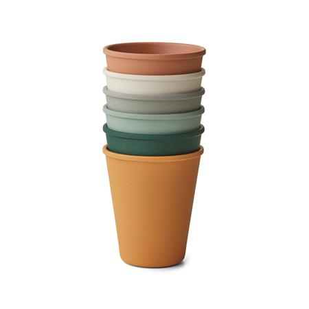 Slika za  Liewood® Set 6 čašica Carter Mustard Multi Mix